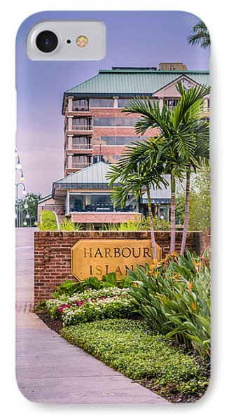 Harbour Island Retreat Phone Case by Carolyn Marshall