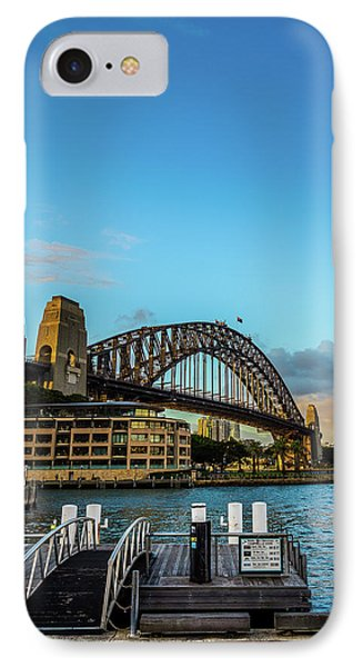 IPhone Case featuring the photograph Harbour Sky by Perry Webster