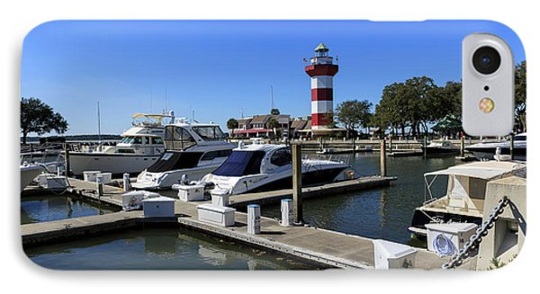 Harbour Town Hilton Head Island South Carolina IPhone Case by Louise Heusinkveld
