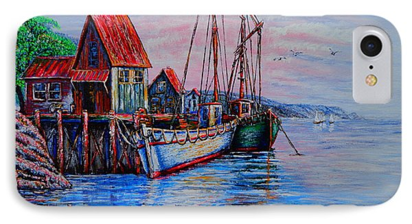 Harbour IPhone Case by Viktor Lazarev