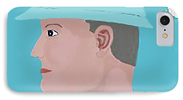 Hard Hat Oil Field Phone Case by Fred Jinkins