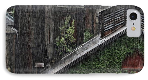 Hard Rain IPhone Case by DJ Florek