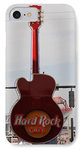 Hard Rock Cafe Nashville IPhone Case by Susanne Van Hulst