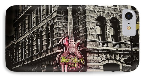 Hard Rock Philly Phone Case by Bill Cannon
