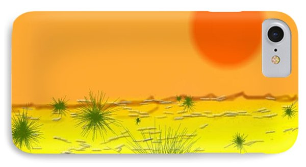 Hard Sun Of Desert IPhone Case by Dr Loifer Vladimir