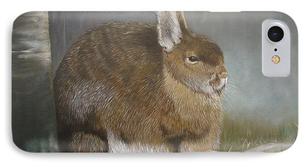 Hare IPhone Case by Jean Yves Crispo
