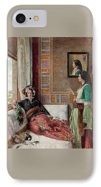Harem Life  Constantinople IPhone Case by John Frederick Lewis