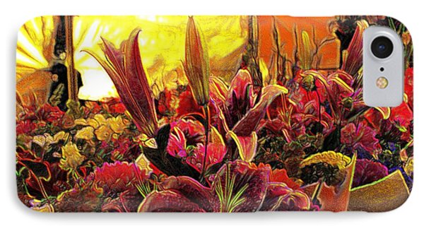 IPhone Case featuring the mixed media Harim by Terence Morrissey