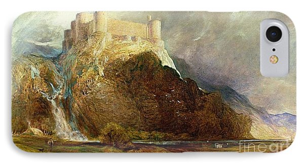 Harlech Castle IPhone Case by MotionAge Designs