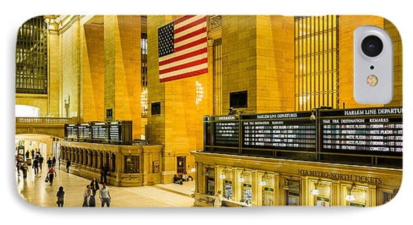 IPhone Case featuring the photograph Grand Central Pride by M G Whittingham