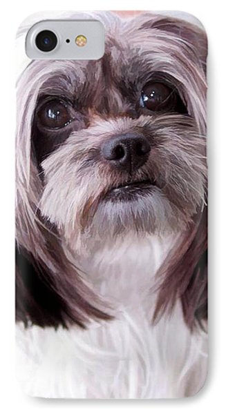 IPhone Case featuring the photograph Harley by Cherie Duran