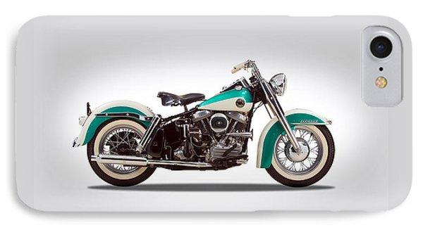 Harley-davidson Duo-glide IPhone Case by Mark Rogan