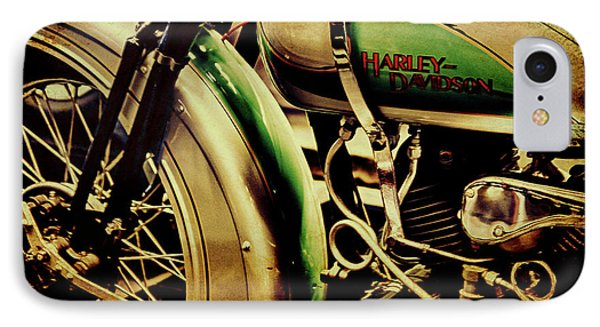 IPhone Case featuring the photograph Harley Davidson by Joel Witmeyer