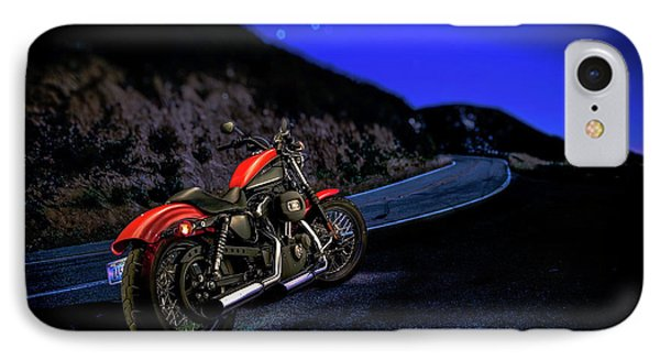 IPhone Case featuring the photograph Harley Davidson Nightster by YoPedro