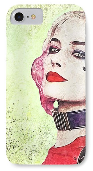Harley Is A Crazy Woman IPhone Case by Anton Kalinichev