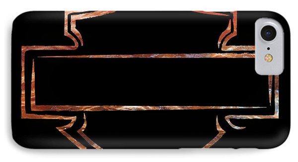 IPhone Case featuring the digital art Harley  by Jamie Lynn