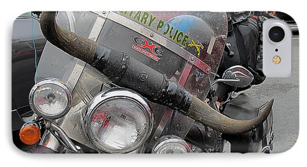 IPhone Case featuring the photograph Harley One Bull O by John King