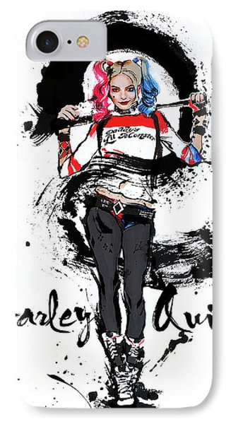 Harley Quinn Phone Case by Haze Long