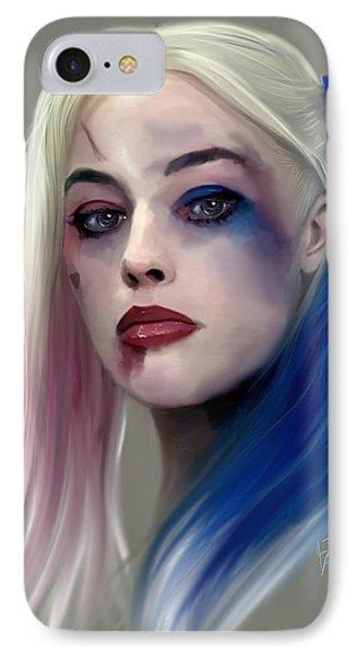 Harley Quinn IPhone Case by Jason Longstreet