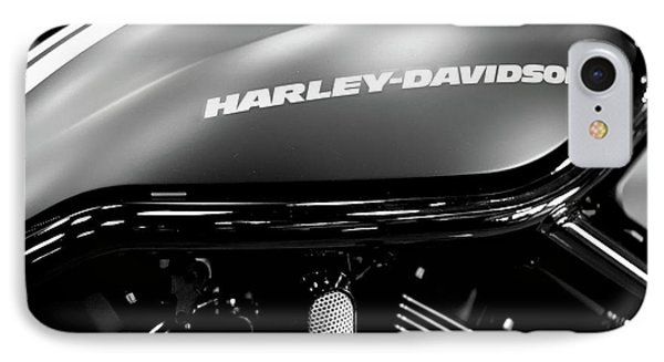 Harley Tank Bw 11716 IPhone Case by Rospotte Photography