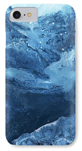 Harmonious Blues- Art By Linda Woods IPhone Case
