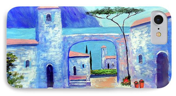 IPhone Case featuring the painting Harmony Of Como by Larry Cirigliano