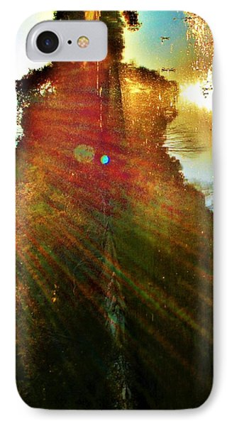 Harness The Power Of Light IPhone Case by SeVen Sumet