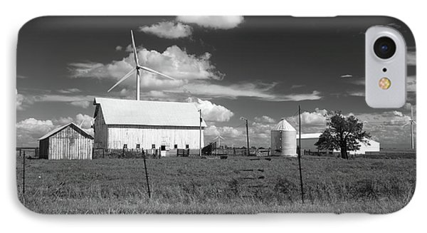 IPhone Case featuring the photograph Harnessing The Wind In Indiana by Scott Kingery