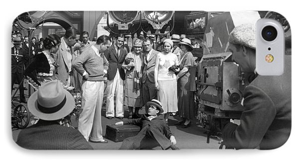 Harold Lloyd (1893-1971) Phone Case by Granger