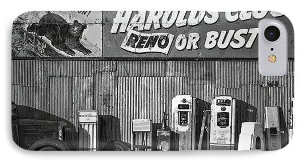 Harold's Club IPhone Case by Marius Sipa