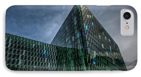 Harpa IPhone Case by Wade Courtney
