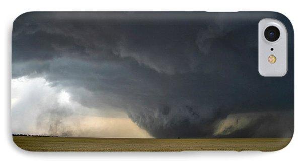 IPhone Case featuring the photograph Harper Kansas Tornado 2  by James Menzies