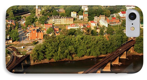 IPhone Case featuring the photograph Harpers Ferry by Mitch Cat