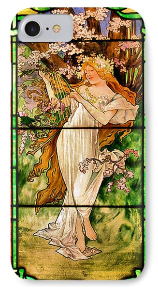 Harpist Phone Case by Kristin Elmquist