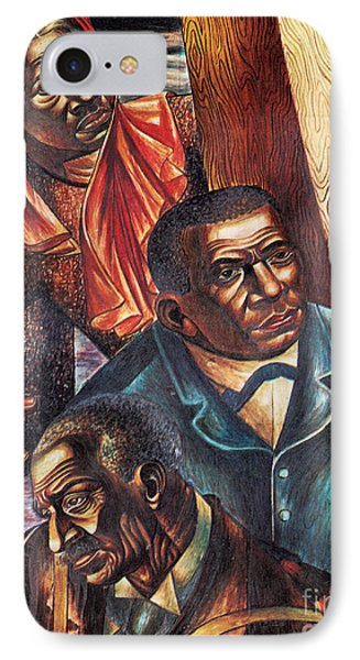 Harriet Tubman, Booker Washington Phone Case by Photo Researchers