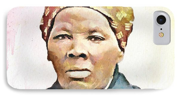 Harriet Tubman IPhone Case by Wayne Pascall