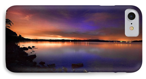Harrison Bay At Night Phone Case by Steven Llorca