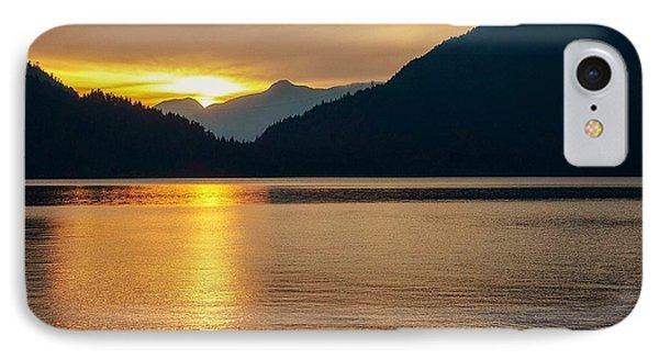 Harrison Lake, British Columbia IPhone Case by Heather Vopni