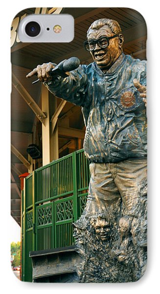 Harry Caray IPhone Case by Anthony Citro
