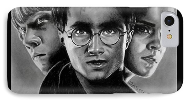 Harry Potter Fanart Phone Case by Jasmina Susak