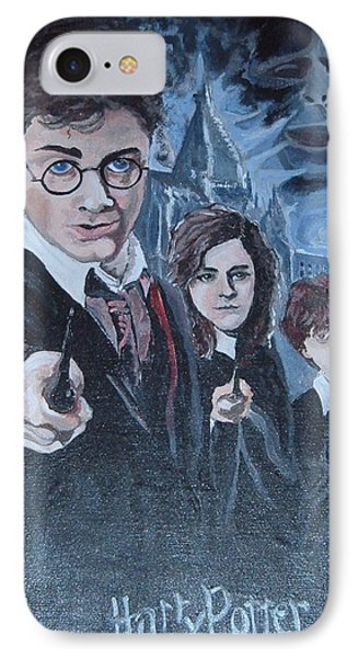 Harry Potter IPhone Case by Julie Cranfill
