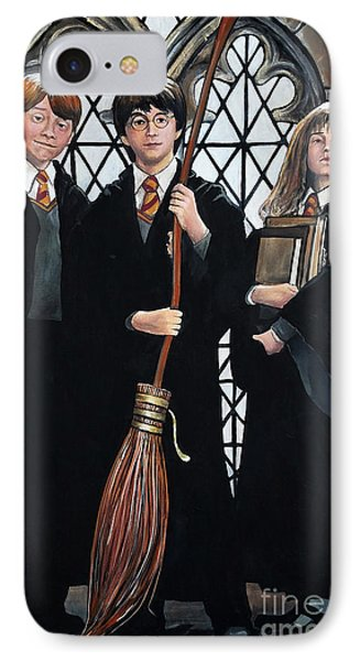 Harry Potter IPhone Case by Tom Carlton