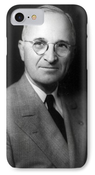 Harry S Truman - President Of The United States Of America IPhone Case by International  Images