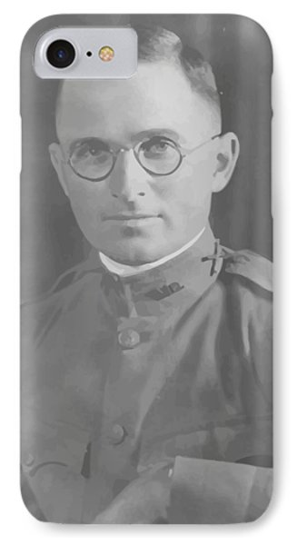 Harry Truman During World War One Phone Case by War Is Hell Store
