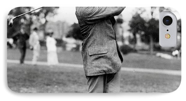 Harry Vardon - Golfer IPhone Case by International  Images