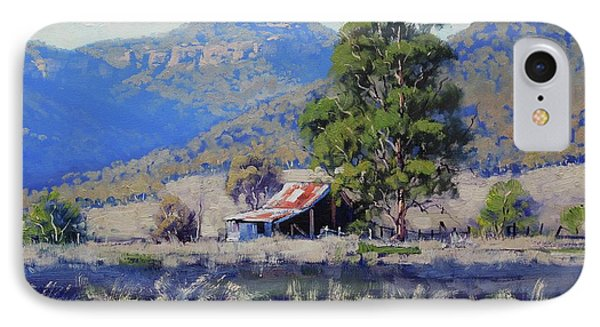 Hartley Farm Shed IPhone Case by Graham Gercken