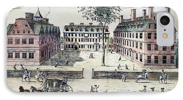Harvard College, C1725 Phone Case by Granger