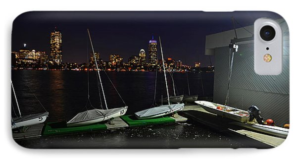 Harvard University Sailing Center IPhone Case by Toby McGuire