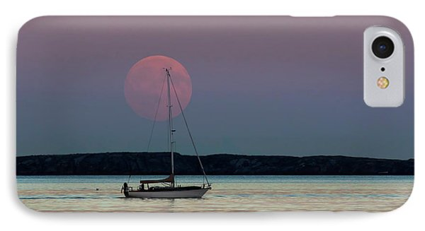 Harvest Moon - 365-193 IPhone Case by Inge Riis McDonald