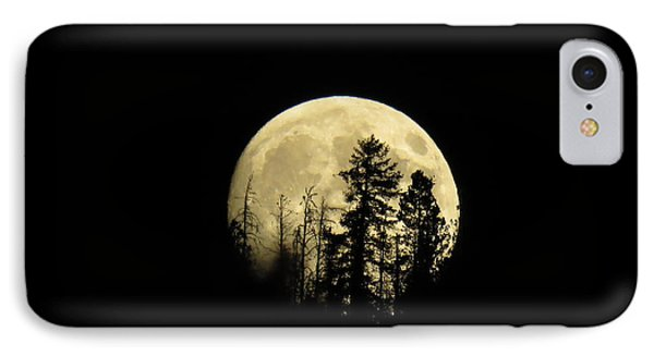 IPhone 7 Case featuring the photograph Harvest Moon by Karen Shackles